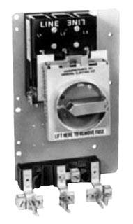 GE THMRB3565 QMR W/LUGS FUSE CLIPS