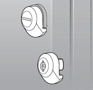 Hoffman UULSC 316 Stainless Steel Key Insert Screw Driver Slot