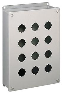 Hoffman E3PBSS 8 x 3.25 x 2.75 Inch 304 Stainless Steel NEMA 4X Push Button Enclosure
