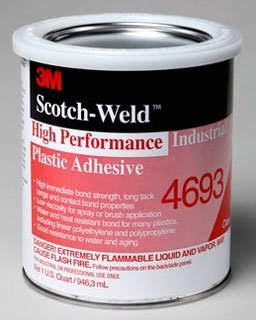 3M 4693 4693 PLASTIC ADH QT