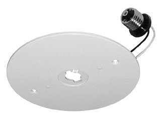 JNO T57WH MONOPOINT ADAPTER,RECESSED