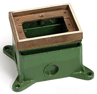 LEW 1101-58-A FULLY ADJ FLOOR BOX,