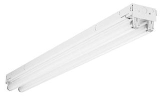 Lithonia Lighting C 2 96T8 MVOLT GEB10IS 2-Lamp 59 W 120 to 277 Volt T8 Striplight