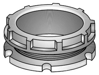 OZ-G BBL-50 1/2 150D PLASTIC BUSH