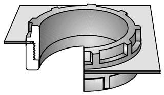 OZ-G ABB-250 2-1/2 150D PLASTIC BUS