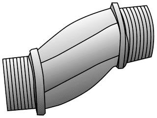 OZ-G ON-125 1-1/4 MALL OFFSET NIP
