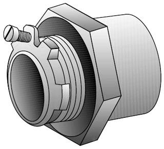 OZ-G CHM-125T 1-1/4 RT INS KO HUB