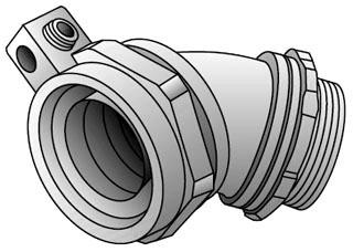 OZ-G 4Q-450LT 1/2 45D INS L/T CONN