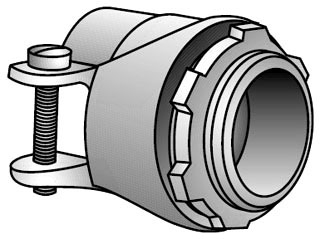 OZ-G 24-34 3/4 MALL SQZ FLEX CONN
