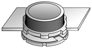 OZ-G GL-250 2-1/2 COND CABINET ADPT