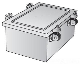 OZ-G YW-080806 8X8X6 N4 IRON BOX