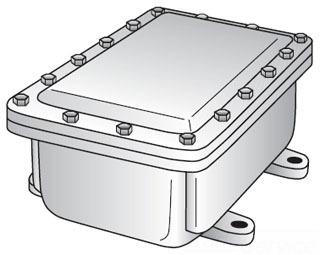 OZ-G YE-181808 CAST IRON JUNCT BOX