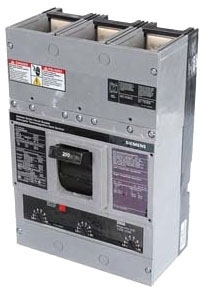 Siemens Industry JXD23B400L 3-Pole 240 VAC 400 Amp 65 kA Non-Interchangeable Trip Thermal Magnetic Molded Case Circuit Breaker