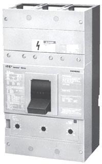 Siemens Industry E3RND63B800 3-Pole 600 VAC 800 Amp 25 kA Interchangeable Trip Thermal Magnetic Molded Case Circuit Breaker