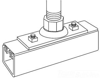 SC G-1032 CHANNEL SWIVEL JOINT