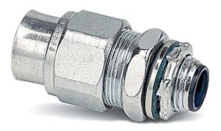 Thomas & Betts 3723 1 Inch Steel Type A Liquidtight Connector