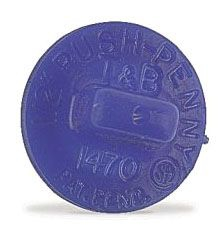 Thomas & Betts 1475 2 Inch Push Penny