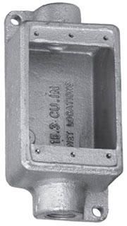 T&B FDC3-TB 1G 1-IN DEEP BOX