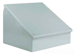 Wiegmann WC12C12 12 x 12 Inch Oiltight Carbon Steel Enclosure Consolet