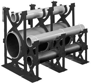 5 x 1-1/2 Inch PVC Intermediate Spacer
