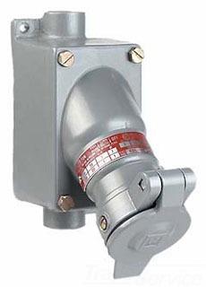 KLRK KRS-215-2303 CL1 30A 2W3P REC/