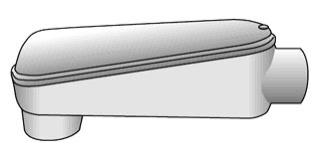 OZ-G LB6X-300MA 3IN AL COND BODY