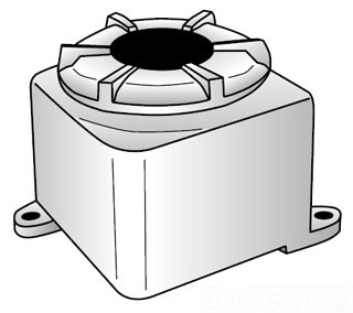 OZ-G NGUB10106A AL STD CVR J-BOX