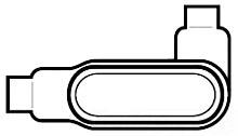CONDUIT LR47-PVC-CT-1-1/4 BODY&CVR