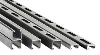 Perma-Cote P1000-10 10 Foot 1-5/8 x 1-5/8 Inch 12 Gauge PVC Coated Channel