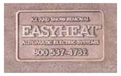 Easy Heat NMPLT Brass Name Plate