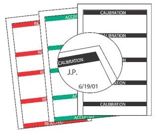 TB WCMP75 CNTRL MARK WRITE-ON V CAL