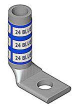 Color-Keyed 54965BEUB 1-Hole 90 Degree Bend Blind End Long Barrel
