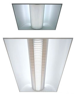 Lithonia Lighting 2AV-G-2-CF40-MDR-MVOLT-GEB10RS Avante® 2 x 2 Foot Recessed Direct-Indirect Volumetric Fluorescent Troffer