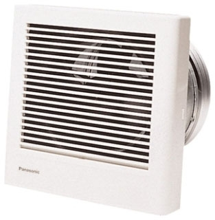 Panasonic Ventilation FV-08WQ1 18 W 120 Volt 0.2 Amp 70 CFM Ventilation Fan