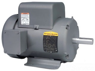 BALDOR L3609T 3HP,1725RPM,1PH,60HZ,