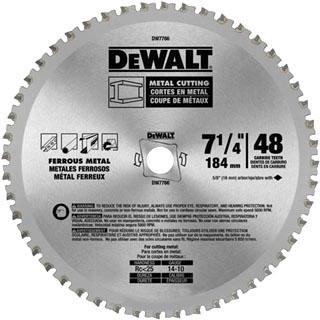 B&D DW7766 7-1/4IN 48TEETH ATB META