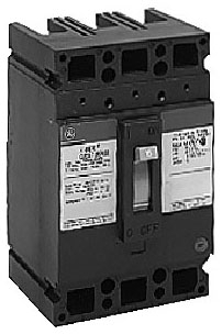 GE Industrial Solutions TED134025WL 480 VAC 25 Amp 3-Pole Circuit Breaker