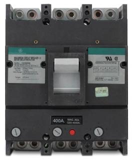GE TJC36400G 3 POLE 600V 400 AMP MA