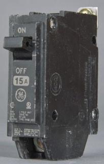 GE THQB1215 15A CIRCUIT BREAKER