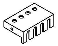 HMND SG4 FLAT FINGER GUARD (PKG OF