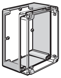 Hoffman Q88PD 68 x 55 Inch Enclosure Panel