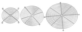 Hoffman AGARD4 Compact Axial Fan Finger Guard