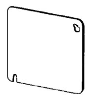 Appleton Group 8465 4 Inch Square Cover Blank