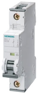 Siemens Industry 5SY4103-5 3 Amp A Curve 1-Pole Supplementary Protector