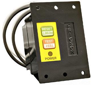 Ericson Manufacturing Company 1075-MR 120 Volt 20 Amp 2400 W Manual Ground Fault Circuit Interrupter