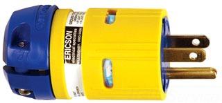 ERIC 1512-PML PLG - 20A/125V STR BL