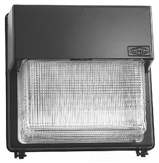 Hubbell Lighting PGL-400S-128-1-LP 400 W 120/208/240/277 Volt High Pressure Sodium Outdoor Wall Pack