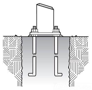 LIT ABSSS-4G Anchor Bolt