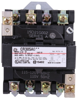 GE CR305H003 CONTACTOR