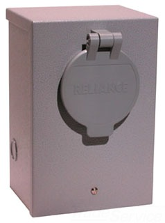 RELI PR20 PWR INLT BOX PNL W/BRK